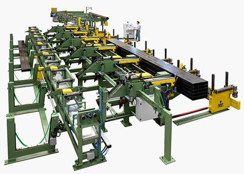 Formatrici fascio automatiche per tubo pieno o profili aperti