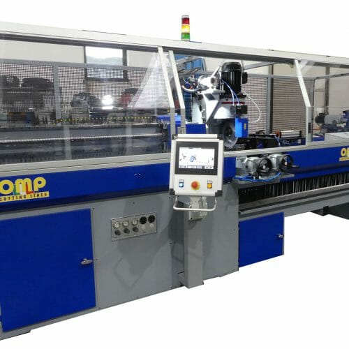 Euromatic single head cutting-off machines
