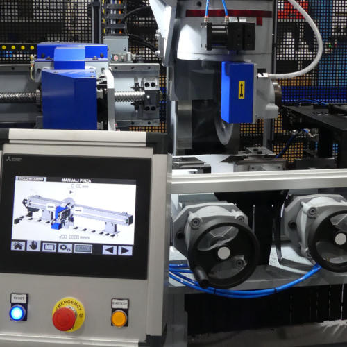 Troncatrici testa singola modello Euromatic 2019